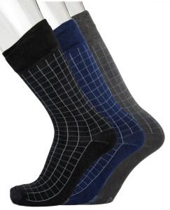 Blacksmith Men's Checkered Mid-calf Length Socks