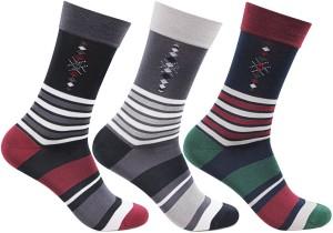 Bonjour Men's Crew Length Socks