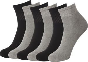 Ultimate Men's Solid Ankle Length Socks