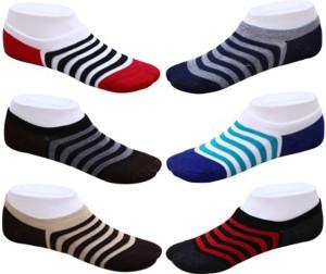 RR Accessories Men's No Show Socks