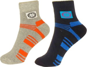 Neska Moda Men & Women Ankle Length Socks