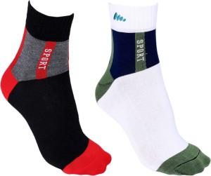 Anixa Men's Ankle Length Socks