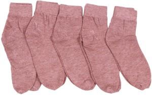 Mikado Women's Solid Ankle Length Socks