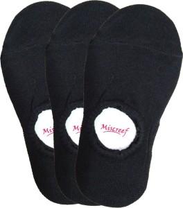 Miscreef Men's Solid No Show Socks