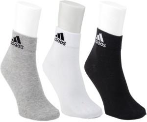 Adidas Men's Self Design Ankle Length Socks