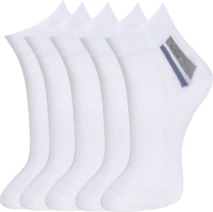 Marc Men's Solid Ankle Length Socks