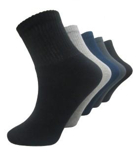 Morson Men's Solid Ankle Length Socks