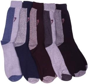 Mikado Men's Embellished Crew Length Socks
