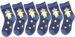 79fb9d2a5a3 Kifayati Bazar Baby Boys Baby Girls Printed Mid calf Length Socks ...