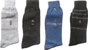 Aadishwar Creations Men's Mid-calf Length Socks