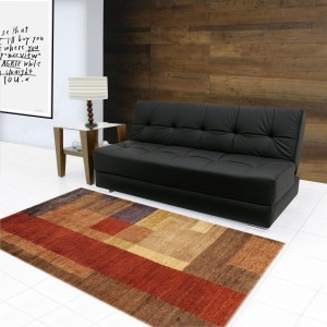 FabHomeDecor Emry Double Leatherette Sofa Bed