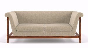 Urban Ladder Malabar Solid Wood 3 Seater Sofa