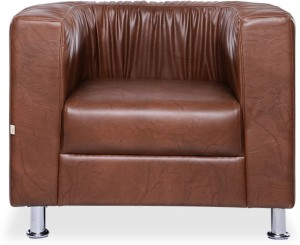 Durian Bid/32627 Leatherette 1 Seater Standard