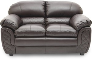 Hometown Mirage Br Leatherette 2 Seater Sofa Finish Color Brown Best