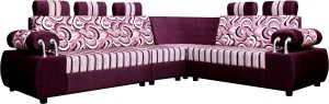 Knight Industry Fabric 6 Seater Sofa