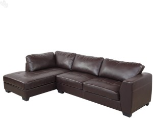 Royal Oak Olive Bonded Leather 3 Seater Sofa