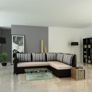 Urban Living Orlando Fabric 4 Seater Sectional