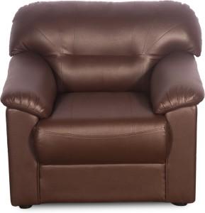 Godrej Interio Rio Plus Leatherette 1 Seater Sofa Finish Color