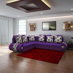 Woodpecker Solid Wood 6 Seater Sectional