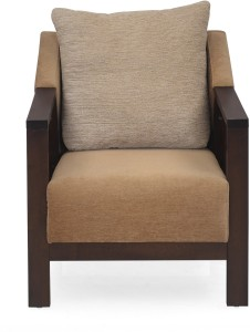 @home by Nilkamal Chevy 1S Fabric 1 Seater Sofa