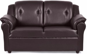 Fabhomedecor York Leatherette 2 Seater Sofa