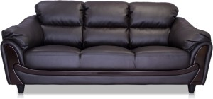 Durian Lakewood Leatherette 3 Seater Standard