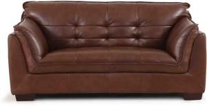 Evok Leather 3 Seater Sofa