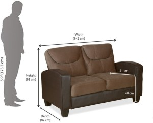 @home by Nilkamal Holmes Fabric 2 Seater Sectional