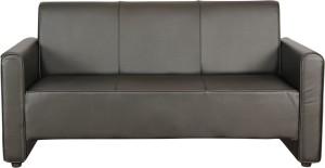 Kurlon Bullet Leatherette 3 Seater Sofa