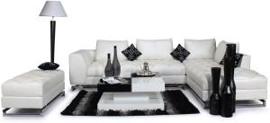 Home City Leatherette 6 Seater Sofa
