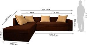 Black sofa bred