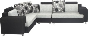 Bharat Lifestyle Feel Good Solid Wood 2 + 2 + 1 SOFT TOUCH Sofa Set