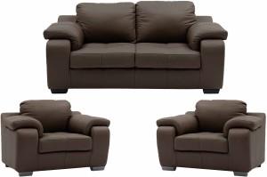 Comfy Sofa Leatherette 3 1 1 Brown Sofa Set Configuration U Shaped