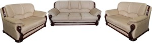 Vintage Ivoria Fabric 3 + 2 + 2 MAHOGANY Sofa Set
