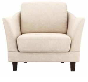 Fabhomedecor Clint Fabric 1 Seater Sofa