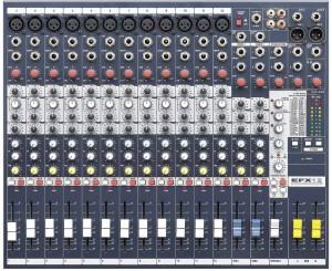 Soundcraft EFX12 Analog Sound Mixer