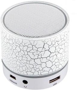 Power BT SPK White Portable Bluetooth Car Speaker
