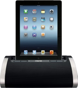 iHome iD48 Portable Rechargeable Speaker for iPhone / iPad / iPodGrey, Mono  Channel
