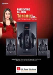 Iball Tarang Lion BT 2.1 Portable Bluetooth Home Audio Speaker