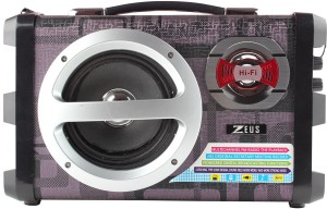 Zeus Zeus Electra Speaker - Portable Speaker with Bluetooth FM/USB/MICRO SD Play with Mic input for Karaoke sing along.Also ideal for classroom usage,Banquet halls and Many More. Portable Bluetooth Home Audio Speaker