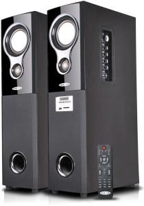 479c0cf52aa Oscar OSC-16600-BT Bluetooth Home Audio Speaker ( Black 2.0 Tower Speaker  Channel
