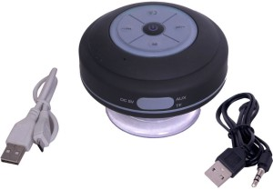 Roiex Q9 Perfect Sound Waterproof Bluetooth Shower Portable Bluetooth Laptop/Desktop Speaker
