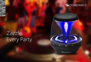 Zebronics Bluetooth speaker Sparkle Portable Bluetooth Mobile/Tablet Speaker