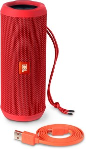 JBL FLIP 3 RED Portable Bluetooth Laptop/Desktop Speaker
