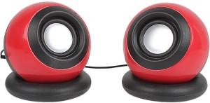 Ad Net 2.0 Usb Portable Wired Mini (Red 2.0 Channel) Portable Laptop/Desktop Speaker