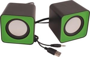 HashTag Glam 4 Gadgets Wired Multimedia USB 1490 Portable Laptop/Desktop Speaker