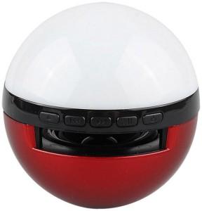 HiTechCart Pokeballgo changing LED Ligh Portable Bluetooth Laptop/Desktop Speaker