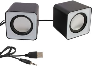 HashTag Glam 4 Gadgets Multimedia USB 2.0 Mini FC1 1377 Portable Laptop/Desktop Speaker