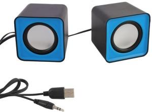 HashTag Glam 4 Gadgets Multimedia USB 2.0 Mini FC1 1346 Portable Laptop/Desktop Speaker