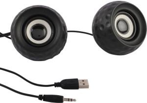 Speed Multimedia USB 2.0 M10 Mini Portable Laptop/Desktop Speaker